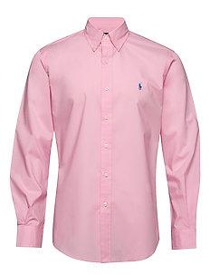 polo ralph lauren skjorte pinkwhite barn klær t skjorter