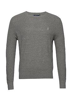 Cotton Linen Crewneck Sweater