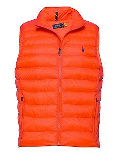 Packable Quilted Vest - vests - bittersweet