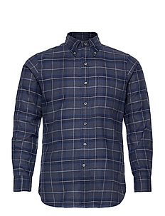 HEATHER TWILL-CUHBDPKS - checkered shirts - 4947 grey heather