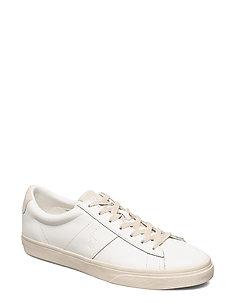 Sayer Calfskin Sneaker - WHITE