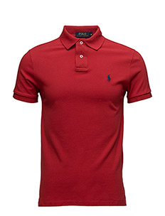 Slim Fit Mesh Polo Shirt - RL2000 RED