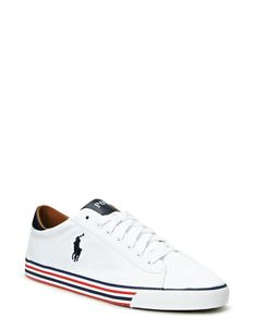 Harvey Canvas Sneaker - PURE WHITE/NEWP