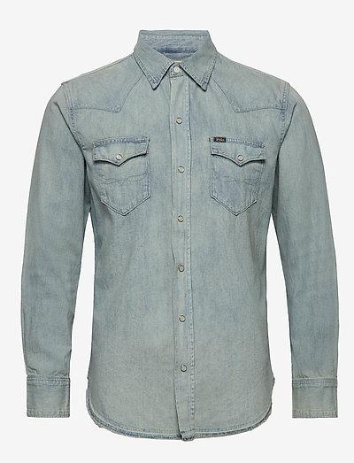 Classic Fit Cotton Denim Shirt - chemises basiques - bailey ldh