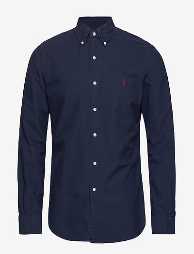 SL BD PPC SP-LONG SLEEVE-SPORT SHIRT - chemises oxford use default - rl navy