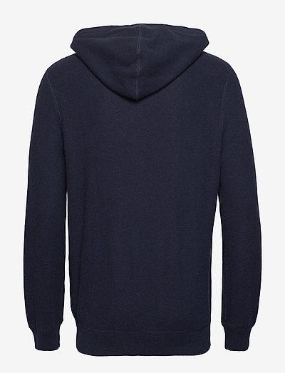 Polo Ralph Lauren Cotton Full-zip Sweater- Sweatshirts Navy Heather