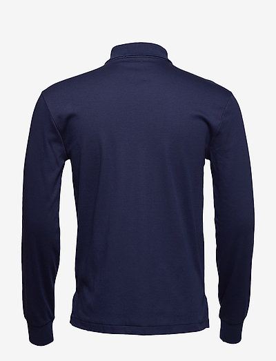Polo Ralph Lauren Lskcslm12-long Sleeve-knit- Poloshirts French Navy