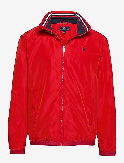 Stowaway-Hood Jacket - light jackets - rl 2000 red