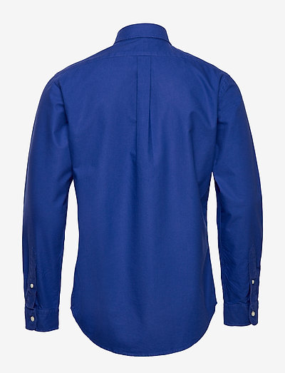 Polo Ralph Lauren Custom Fit Oxford Shirt- Hemden Heritage Royal