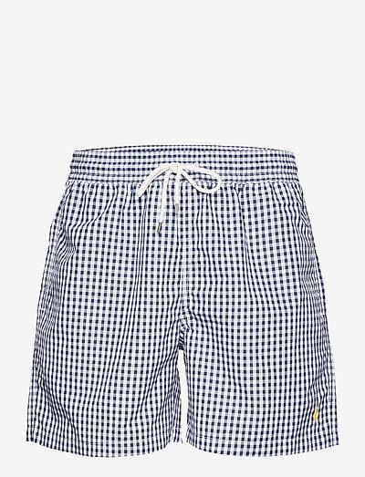 5.5-Inch Traveler Swim Trunk - shorts de bain - newport navy ging