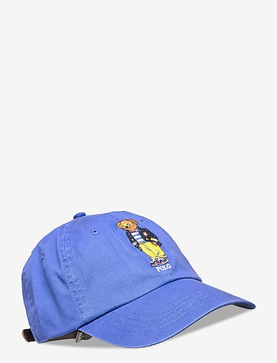 Polo Bear Chino Ball Cap - bonnets & casquettes - new iris