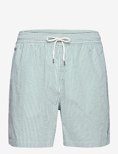 5.5-Inch Traveler Seersucker Swim Trunk - shorts de bain - bay green seersuc
