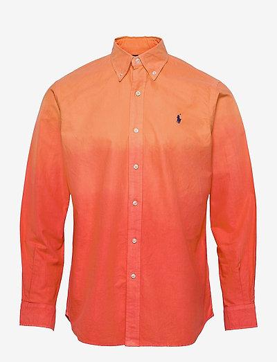 Classic Fit Oxford Shirt - basic overhemden - 5158b orange/oran