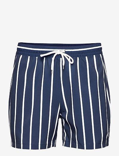 4.5-Inch Traveler Slim Fit Swim Trunk - shorts de bain - rugby royal nauti