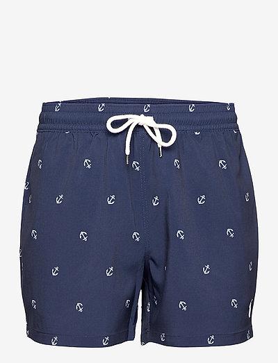 4.5-Inch Traveler Slim Fit Swim Trunk - shorts de bain - resort anchor