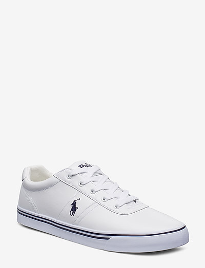 Hanford Leather Sneaker - lave sneakers - pure white