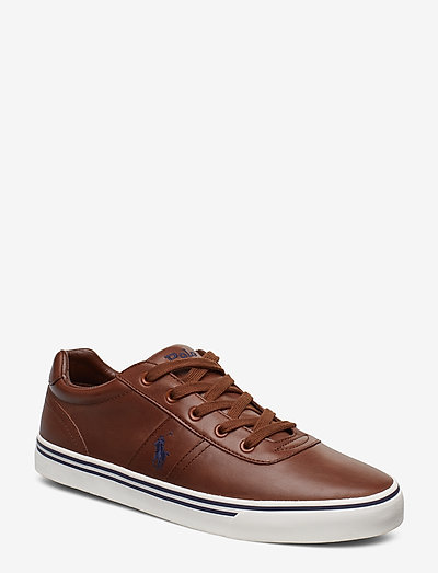 Hanford Leather Sneaker - lave sneakers - tan