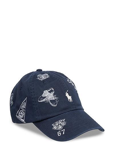 2d001848ffd Preppy-print Baseball Cap (Aviator Navy W  P) (£45) - Polo Ralph Lauren -