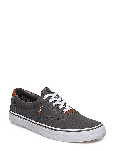 ba7425901e Thorton Washed Twill Sneaker (Black) (79 €) - Polo Ralph Lauren - |  Boozt.com