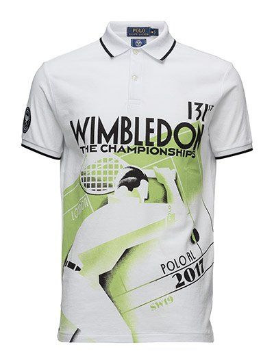 Wimbledon Custom Fit Polo - PURE WHITE