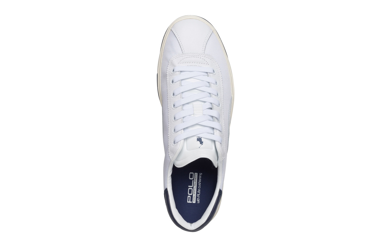 Forest Sneaker Caoutchouc mesh White 100 Outsole 100 Supérieure Court Partie Sport Polo Polyester Leather new Wqcy84c1
