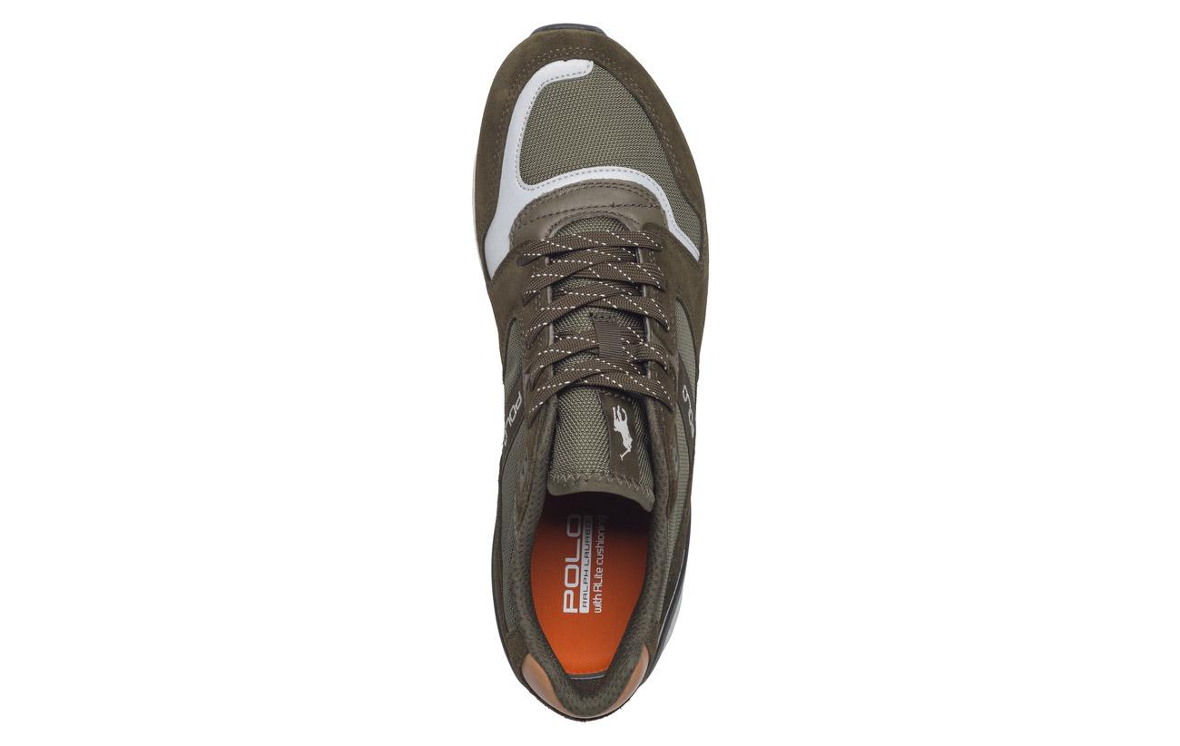 Train 100 new Partie Sport Outsole Polo Sneaker Grey Caoutchouc Suede Supérieure Gl Basic Cowsuede mesh 100 5Bvwx7vq8