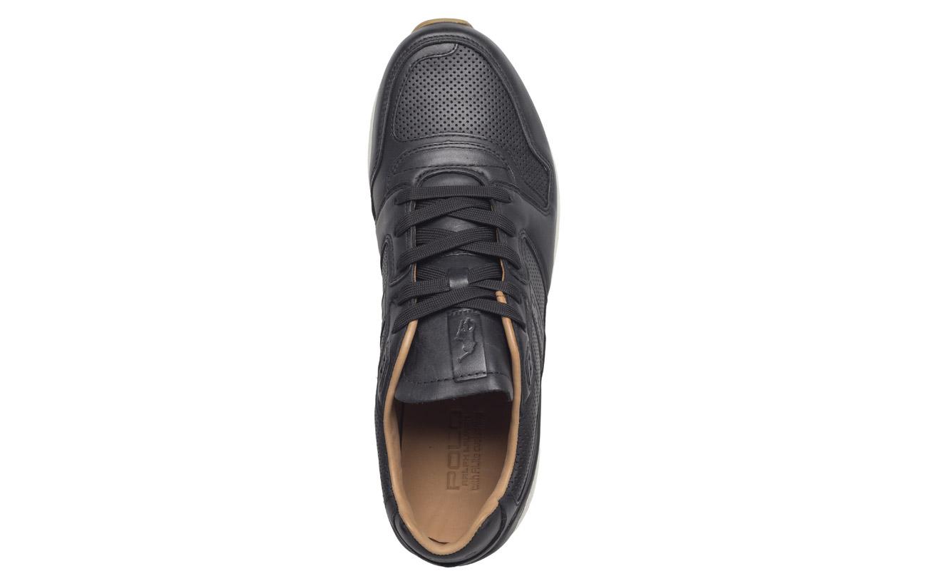 100 Black 100 Calfskin Outsole Polo Sport Supérieure Partie Sneaker Caoutchouc Cowleather Train 8wRtfE76qX