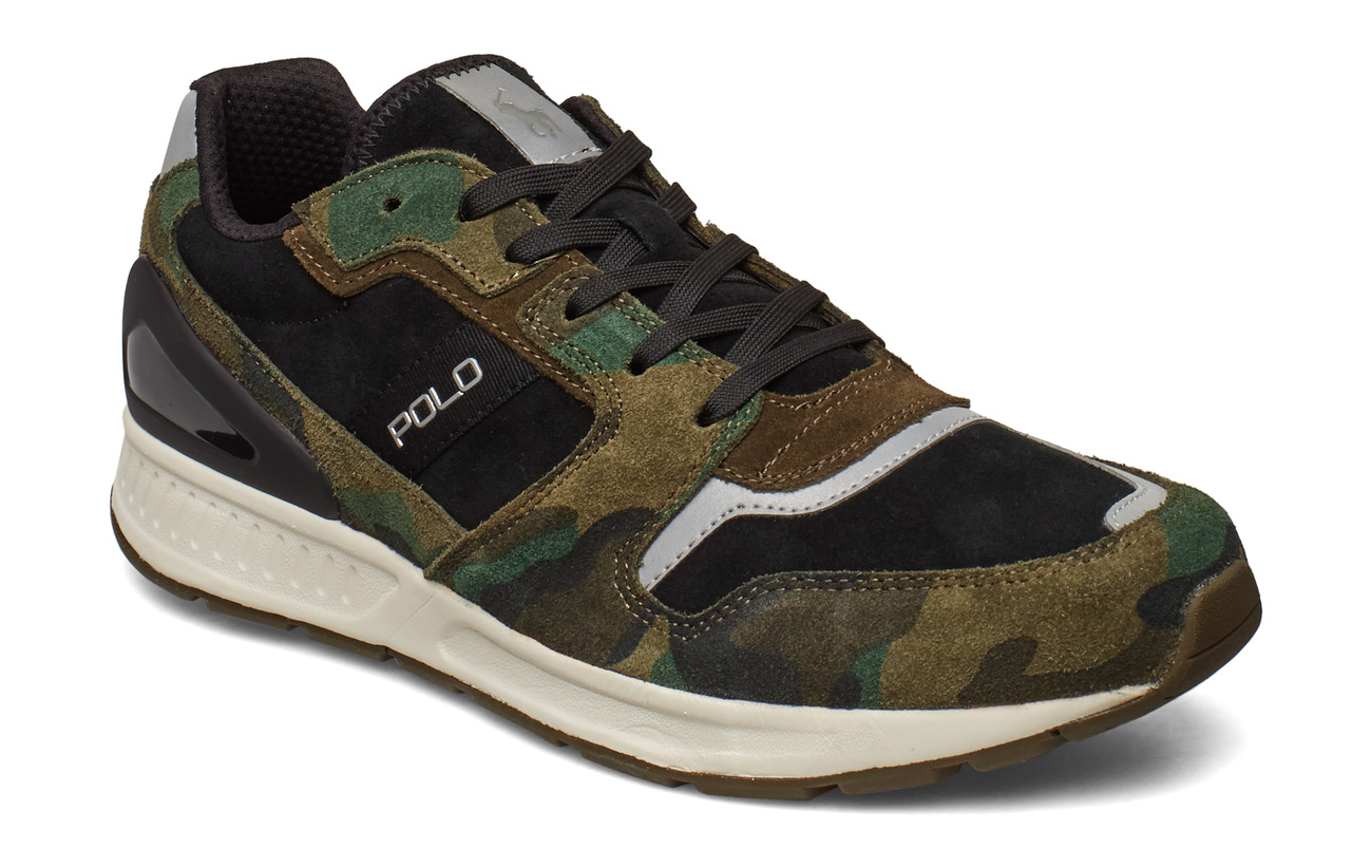 Polo Sport SUEDE-TRAIN100-SK-ATH - OLIVE CAMO/DEEP O