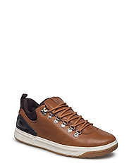 Adventure 100 Leather Sneaker - DEEP SADDLE TAN