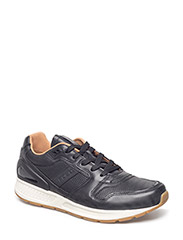 Train 100 Calfskin Sneaker - BLACK