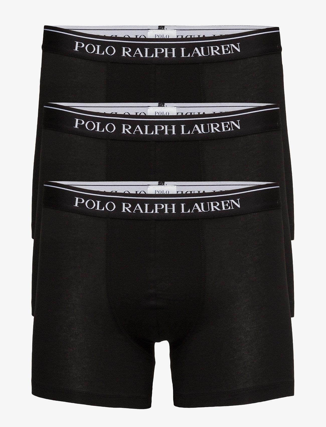 Polo Ralph Lauren Underwear - Stretch-Cotton-Trunk 3-Pack - boxers - 3pk polo blk - 0