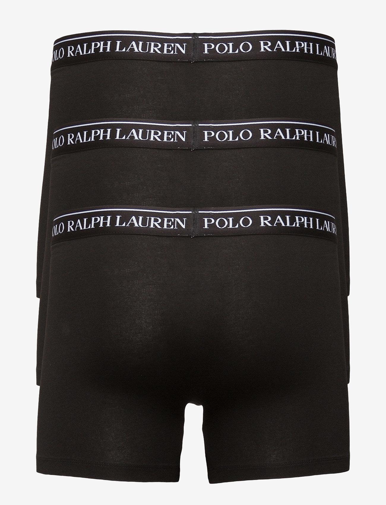 Polo Ralph Lauren Underwear - Stretch-Cotton-Trunk 3-Pack - boxers - 3pk polo blk - 1