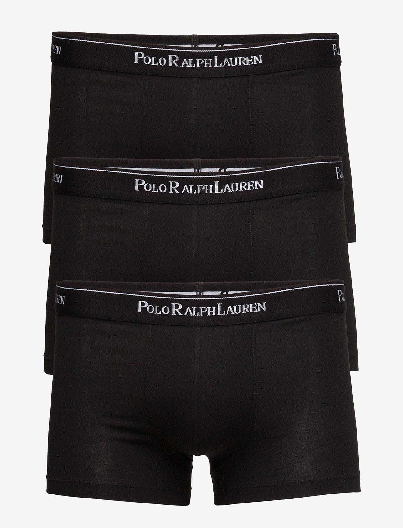 Polo Ralph Lauren Underwear - 3 PACKS POUCH TRUNKS - boxershorts - black - 0