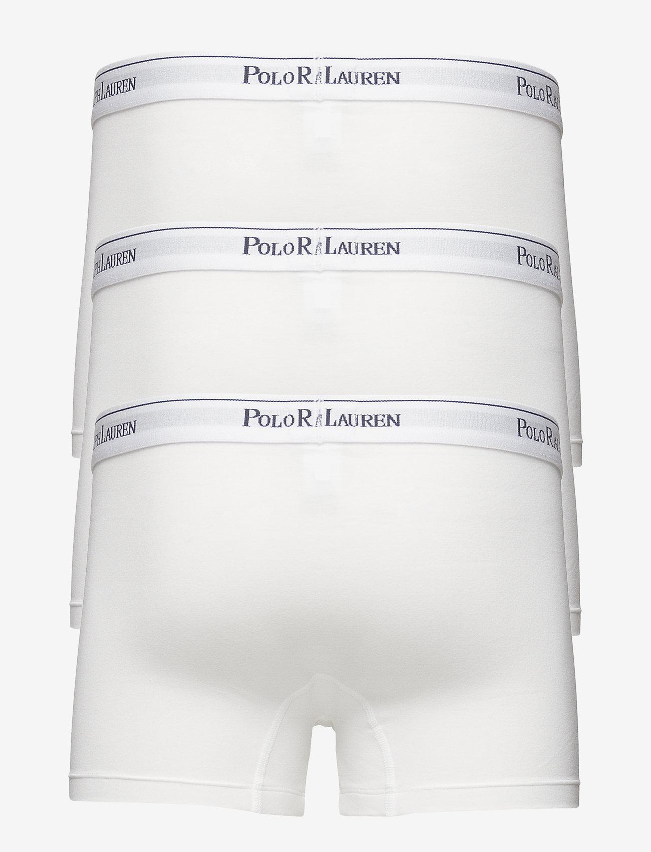 Polo Ralph Lauren Underwear - 3 PACKS POUCH TRUNKS - sous-vêtements - white
