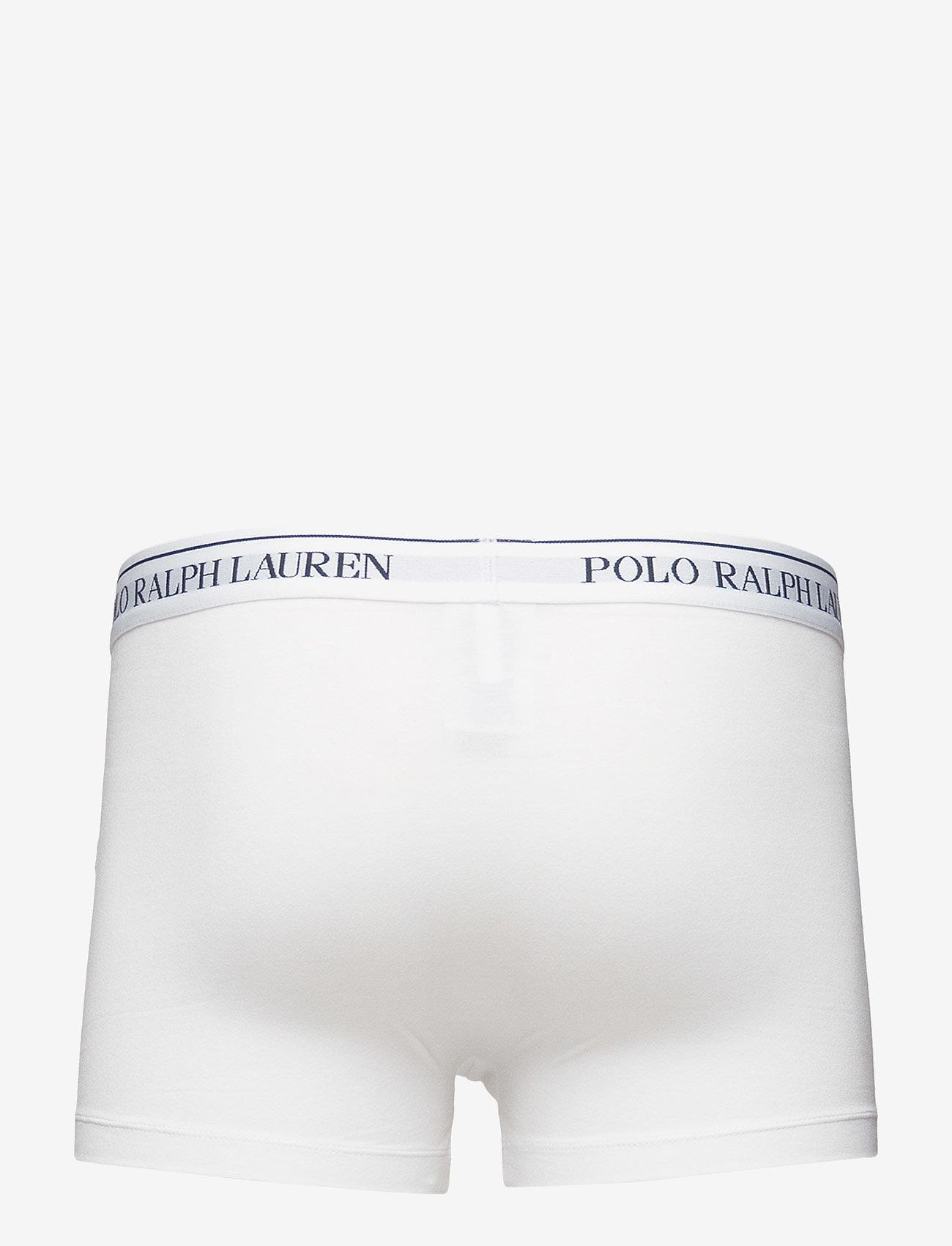 Stretch Cotton Classic Trunk (White) - Polo Ralph Lauren Underwear 4sUl4v