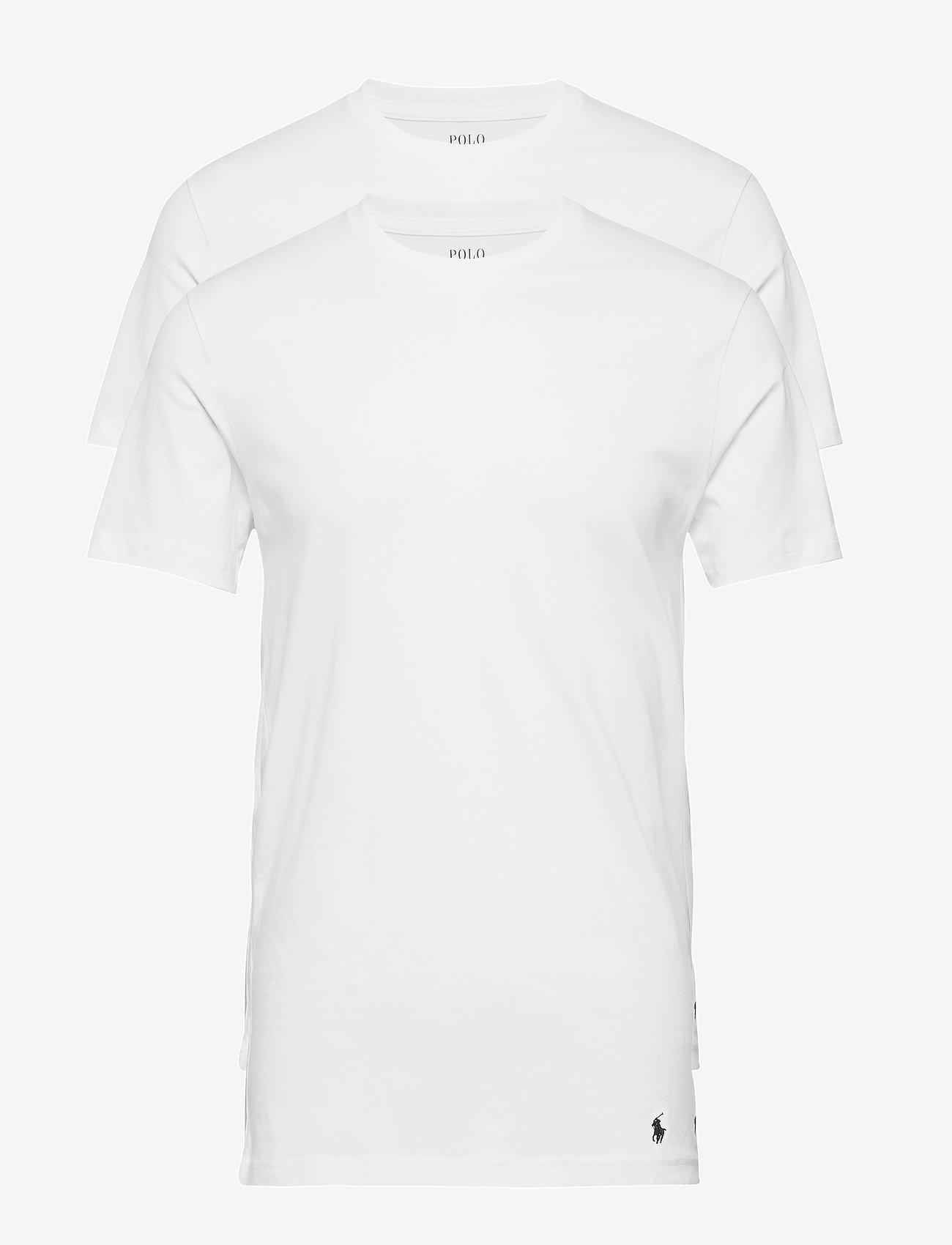 Polo Ralph Lauren Underwear - Tall Classic Crew 2-Pack - basic t-shirts - white - 0