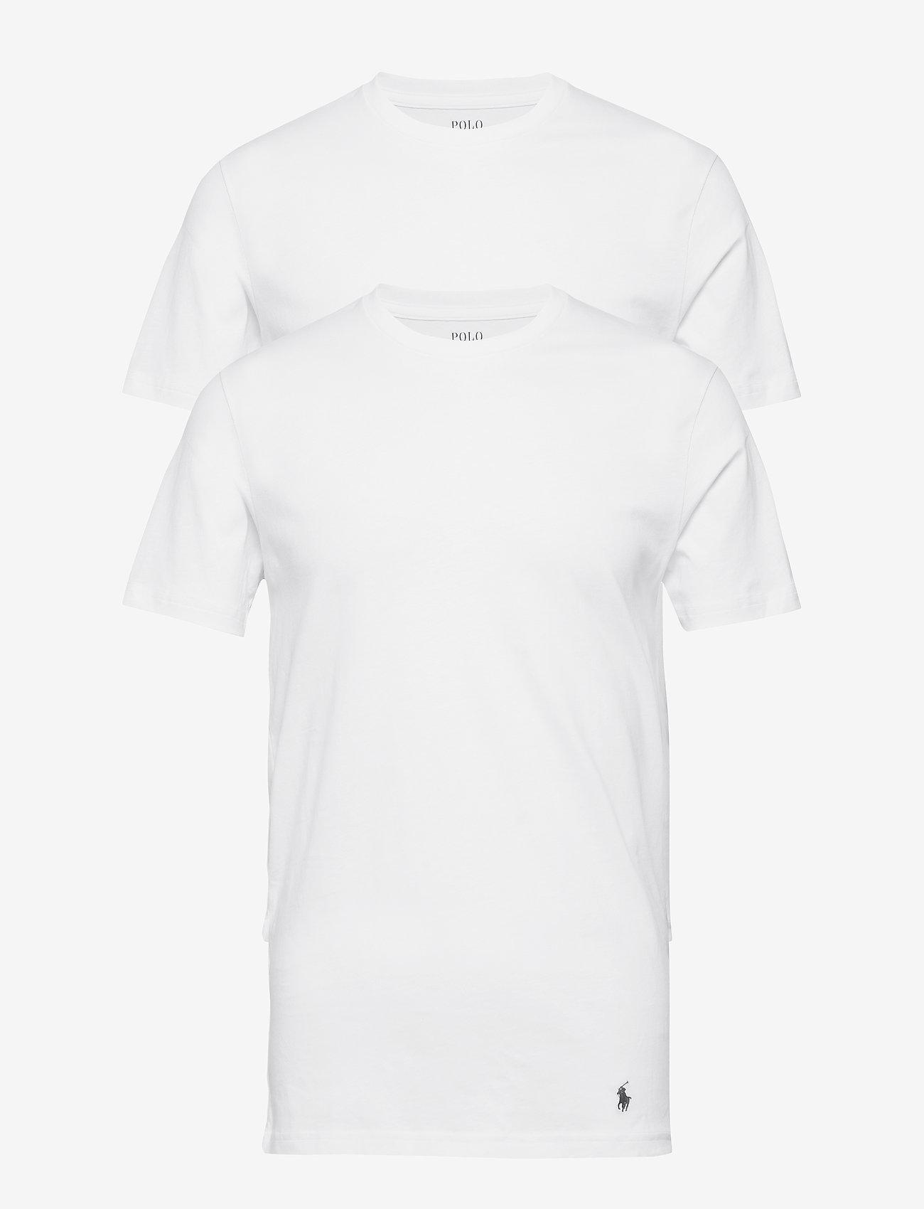Polo Ralph Lauren Underwear - Tall Classic Crew 2-Pack - basic t-shirts - white - 1