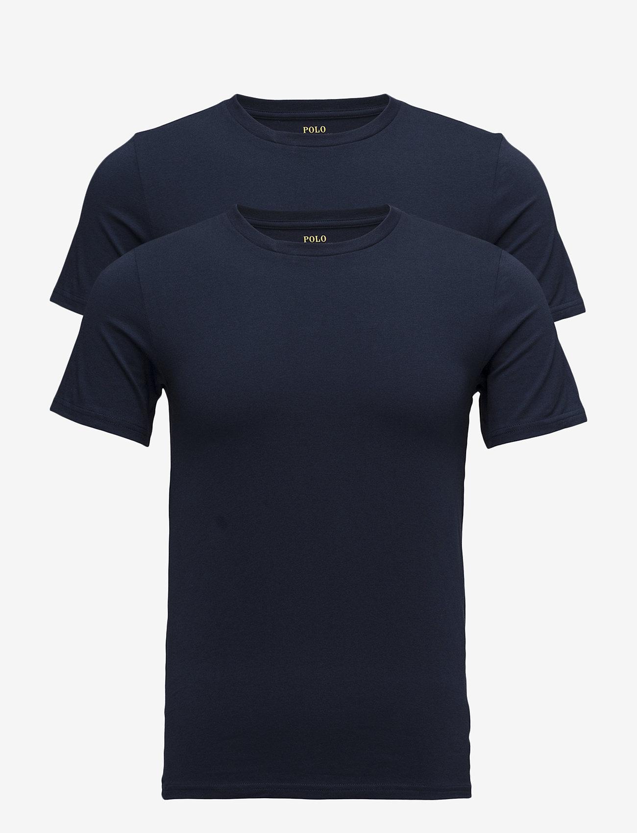 Polo Ralph Lauren Underwear - Crewneck T-Shirt 2-Pack - multipack - 2pk navy/navy - 0