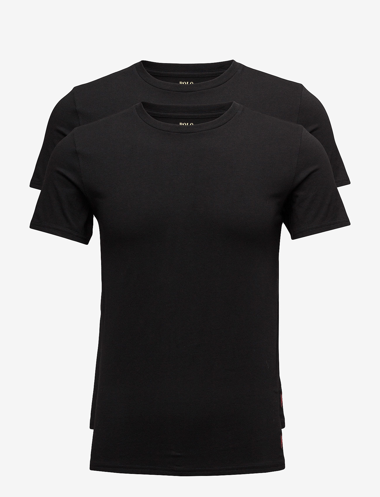 Polo Ralph Lauren Underwear - Crewneck T-Shirt 2-Pack - multipack - 2pk polo black - 0