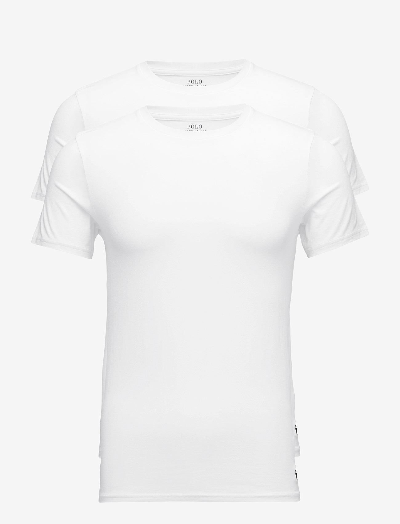 Polo Ralph Lauren Underwear - Crewneck T-Shirt 2-Pack - multipack - 2pk white/white - 0