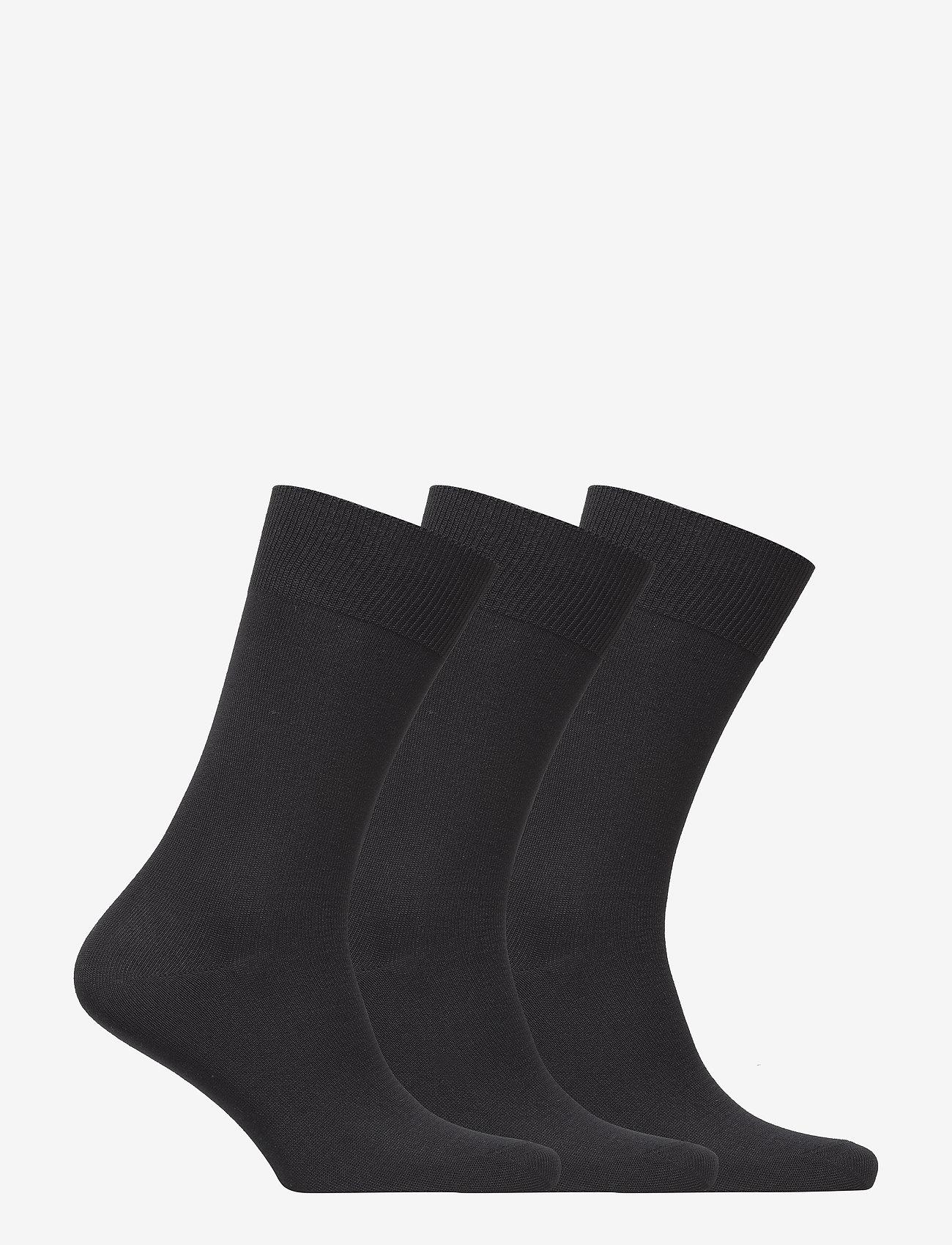Polo Ralph Lauren Underwear - Cotton-Blend Sock 3-Pack - regular socks - black - 1