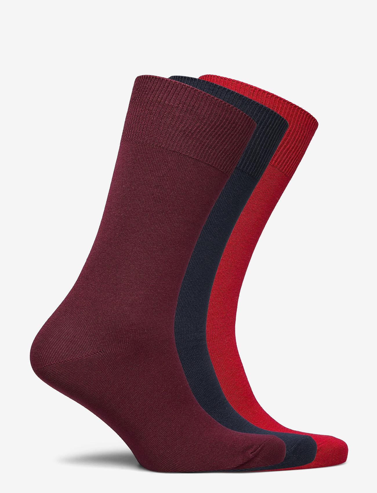 Polo Ralph Lauren Underwear - Cotton-Blend Sock 3-Pack - regular socks - rd/nvy/red - 1