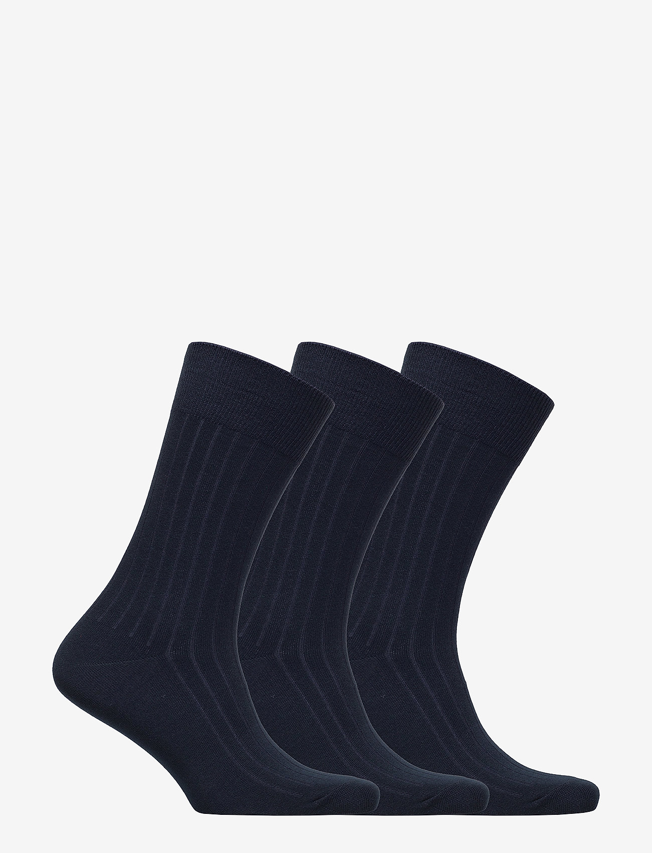 Polo Ralph Lauren Underwear - Ribbed Crew Sock 3-Pack - regular socks - navy - 1