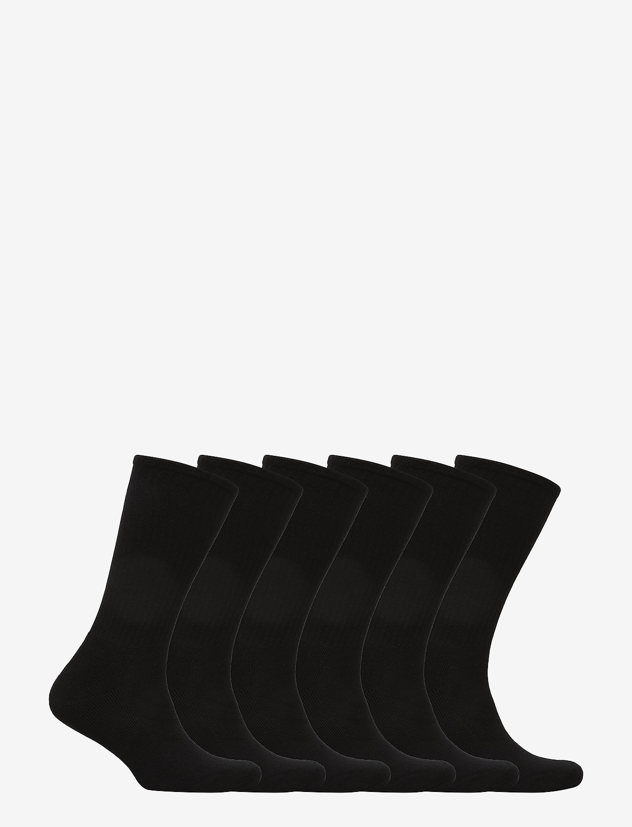 Polo Ralph Lauren Underwear - Cotton-Blend Crew Sock 6-Pack - regular socks - black - 1