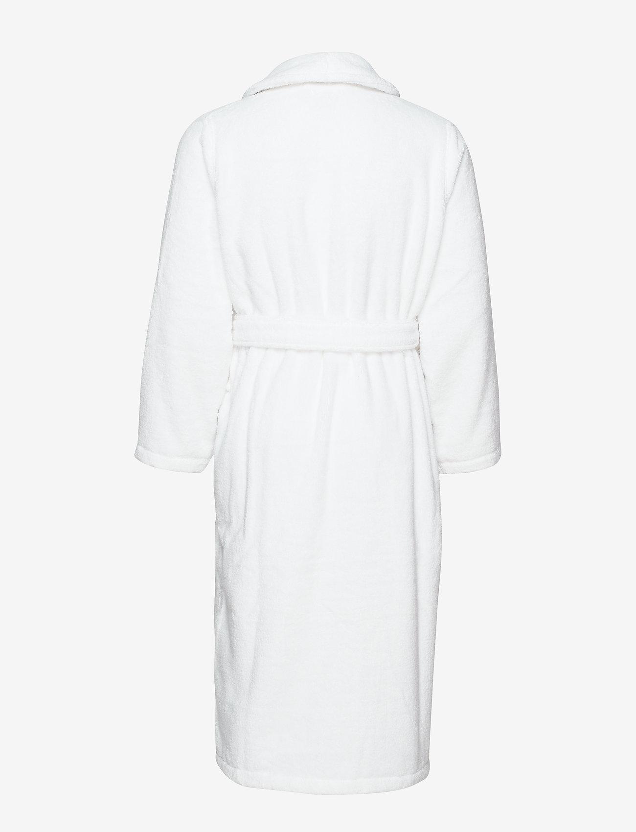 Polo Ralph Lauren Underwear - Cotton Terry Shawl Robe - robes - white multi pp - 1