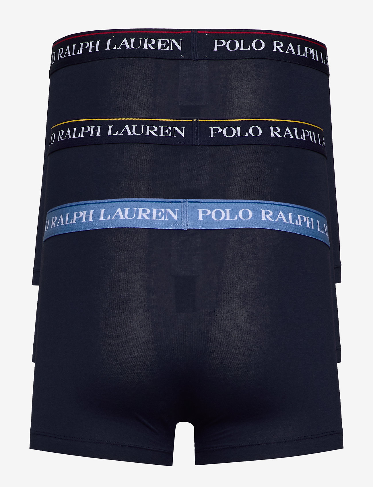 Polo Ralph Lauren Underwear - Stretch-Cotton Trunk 3-Pack - boxershorts - 3pk nvy/ylw nvy/r - 1