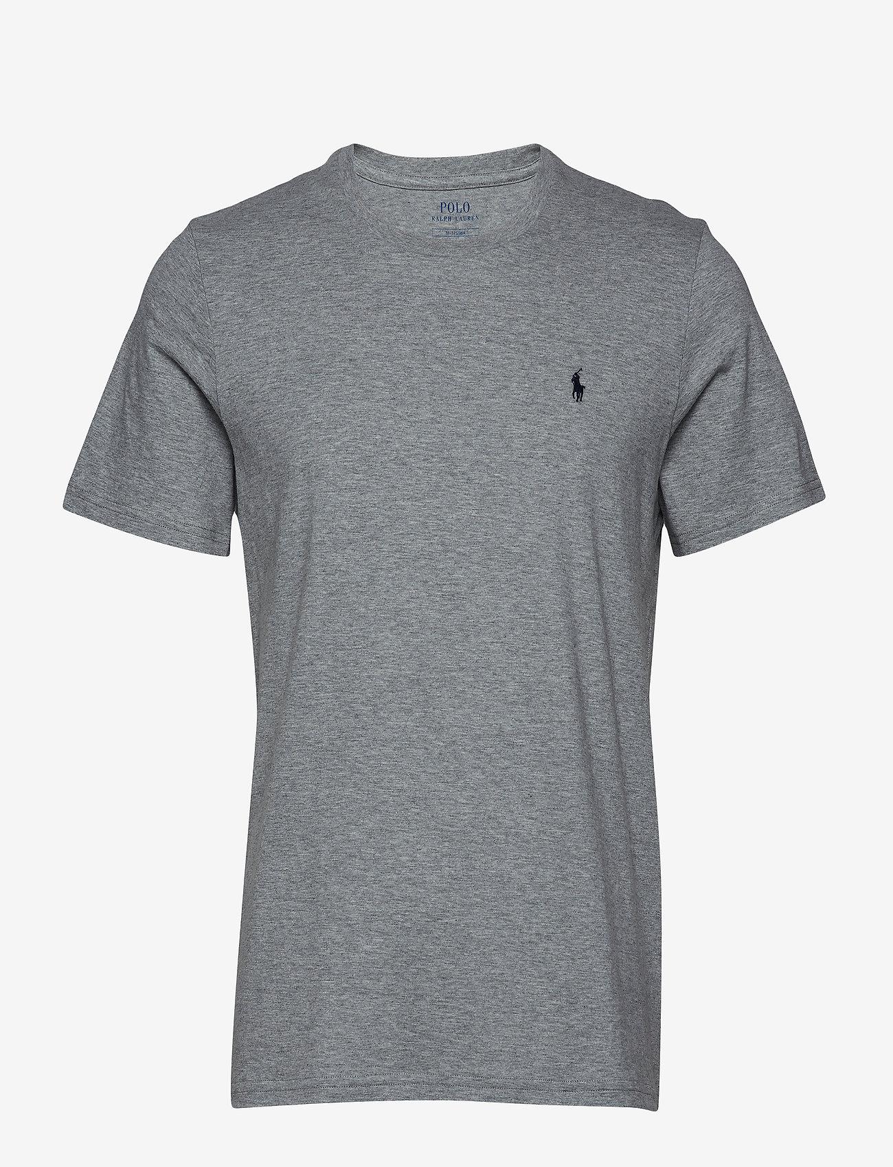 Polo Ralph Lauren Underwear - Cotton Crewneck Tee - basic t-shirts - andover heather - 0