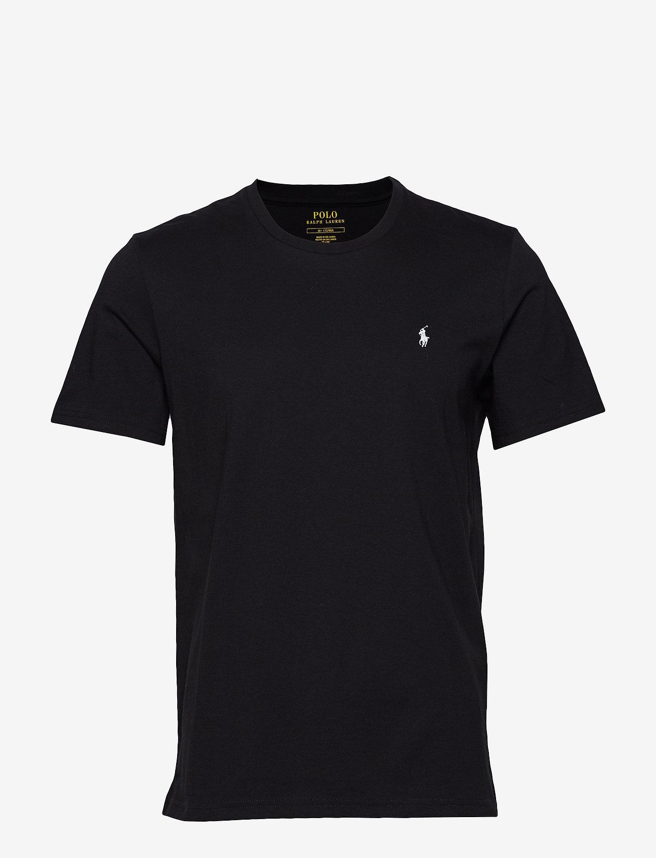 Polo Ralph Lauren Underwear - Cotton Crewneck Tee - basic t-shirts - polo black - 0