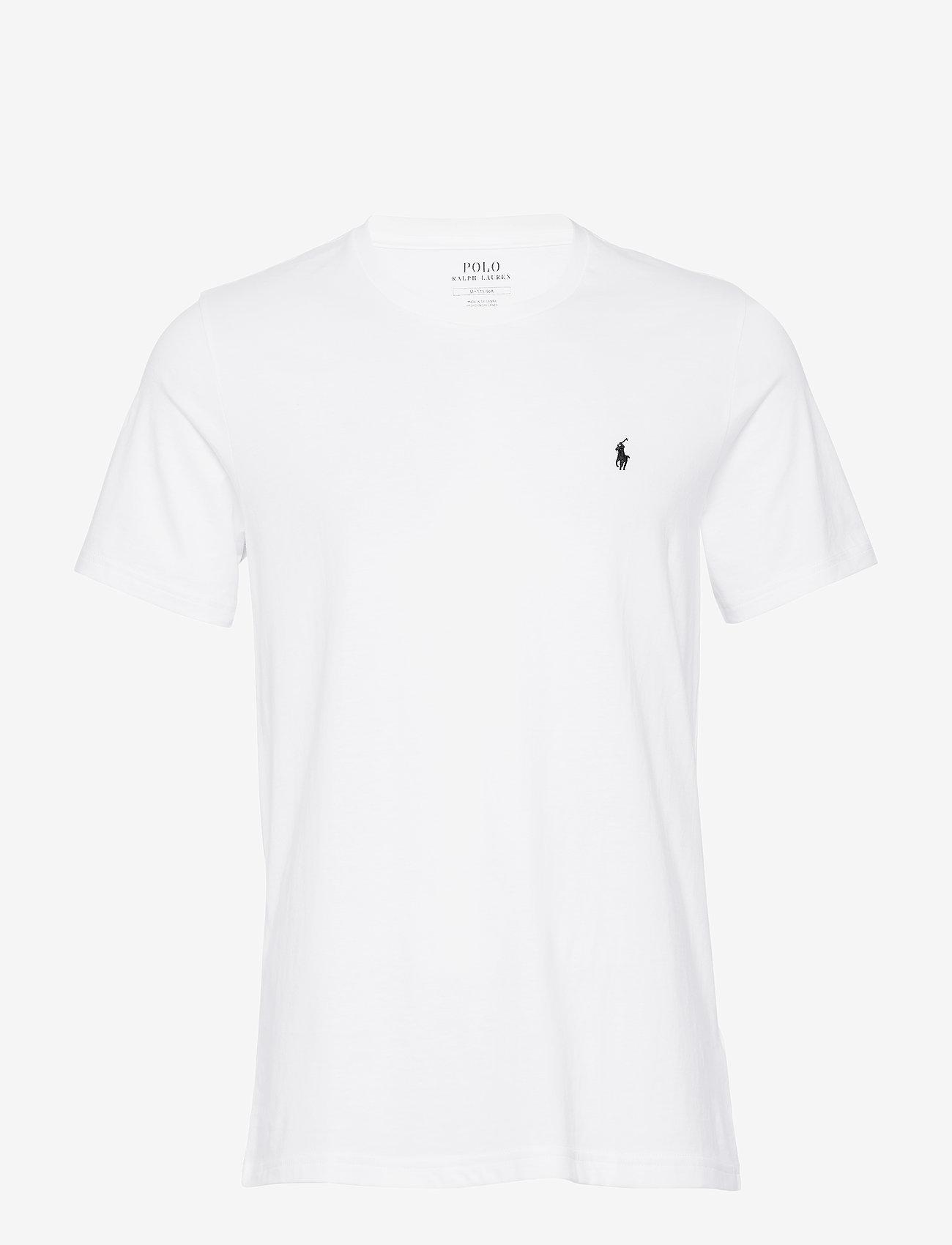 Polo Ralph Lauren Underwear - LIQUID COTTON-CRW-STP - kurzärmelig - white - 0
