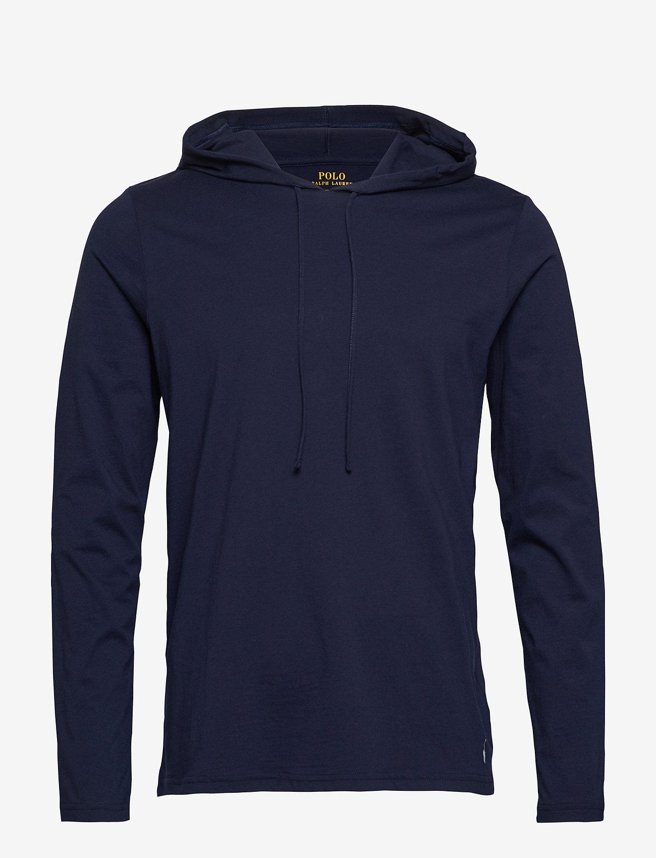 Polo Ralph Lauren Underwear - Cotton-Blend Sleep Hoodie - hoodies - cruise navy - 0
